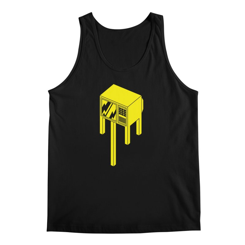Idiot Box Men's Tank by Shop TerryMakesStuff