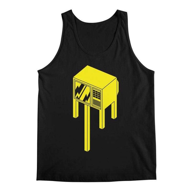 Idiot Box Men's Regular Tank by Shop TerryMakesStuff