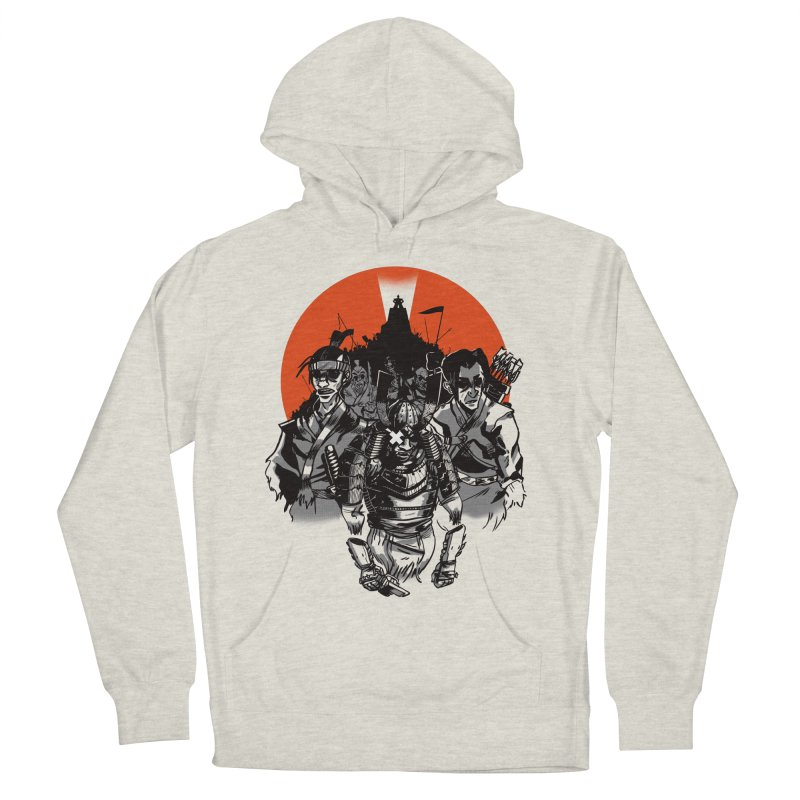 Shogun Men's French Terry Pullover Hoody by Shop TerryMakesStuff