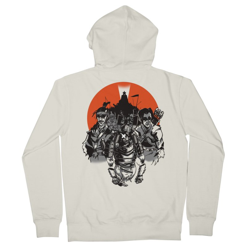 Shogun Men's French Terry Zip-Up Hoody by Shop TerryMakesStuff