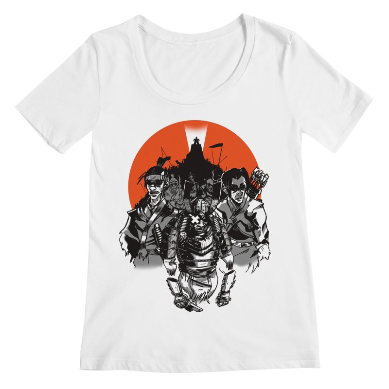 Shogun Women's Regular Scoop Neck by Shop TerryMakesStuff