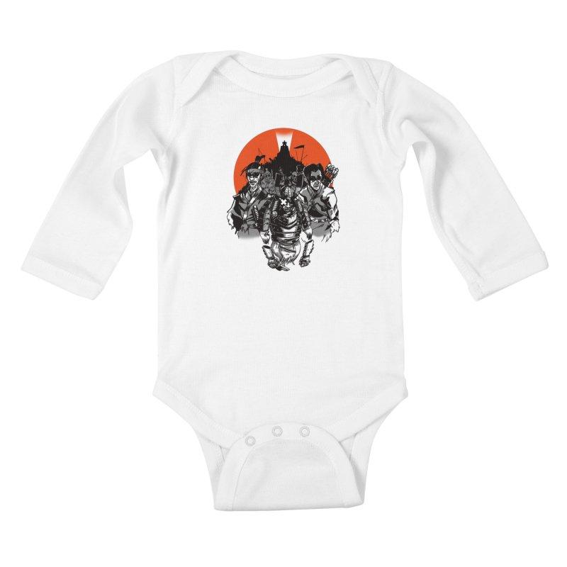 Shogun Kids Baby Longsleeve Bodysuit by Shop TerryMakesStuff
