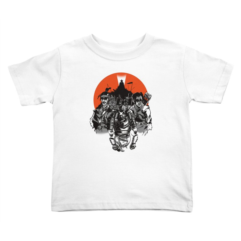 Shogun Kids Toddler T-Shirt by Shop TerryMakesStuff