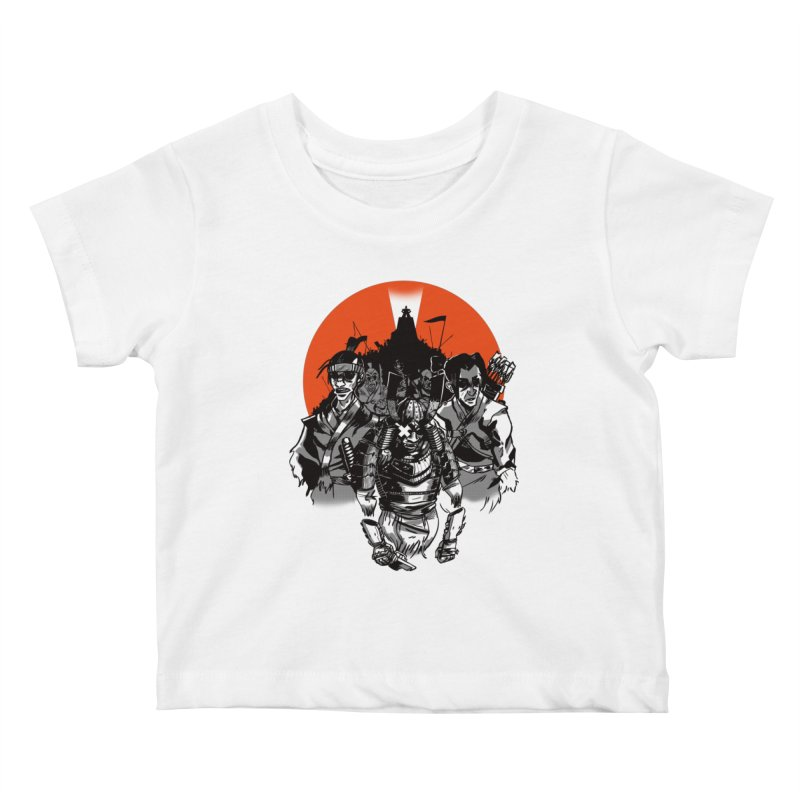 Shogun Kids Baby T-Shirt by Shop TerryMakesStuff