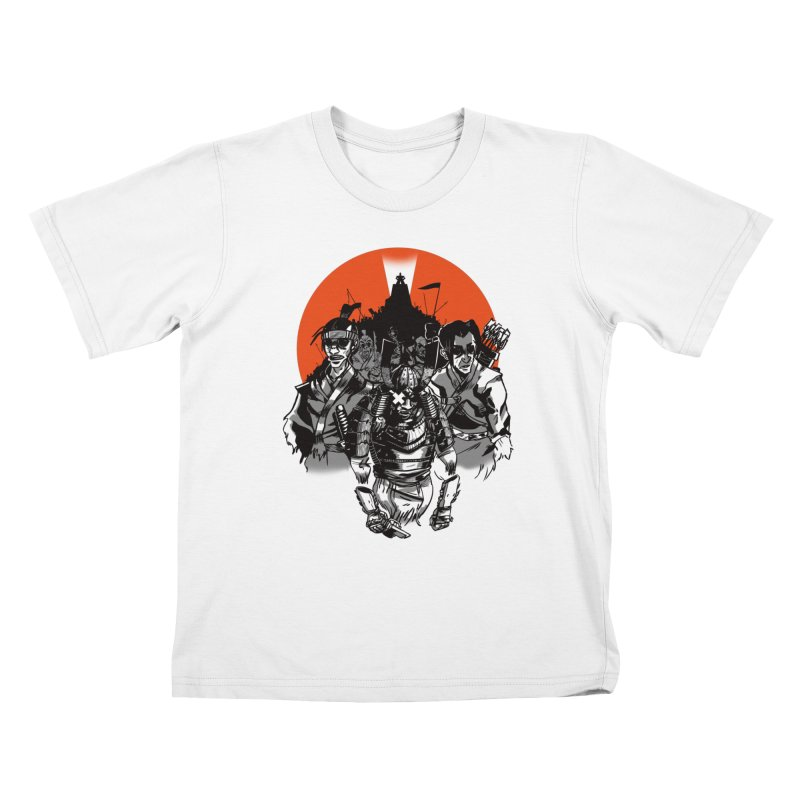 Shogun Kids T-Shirt by Shop TerryMakesStuff