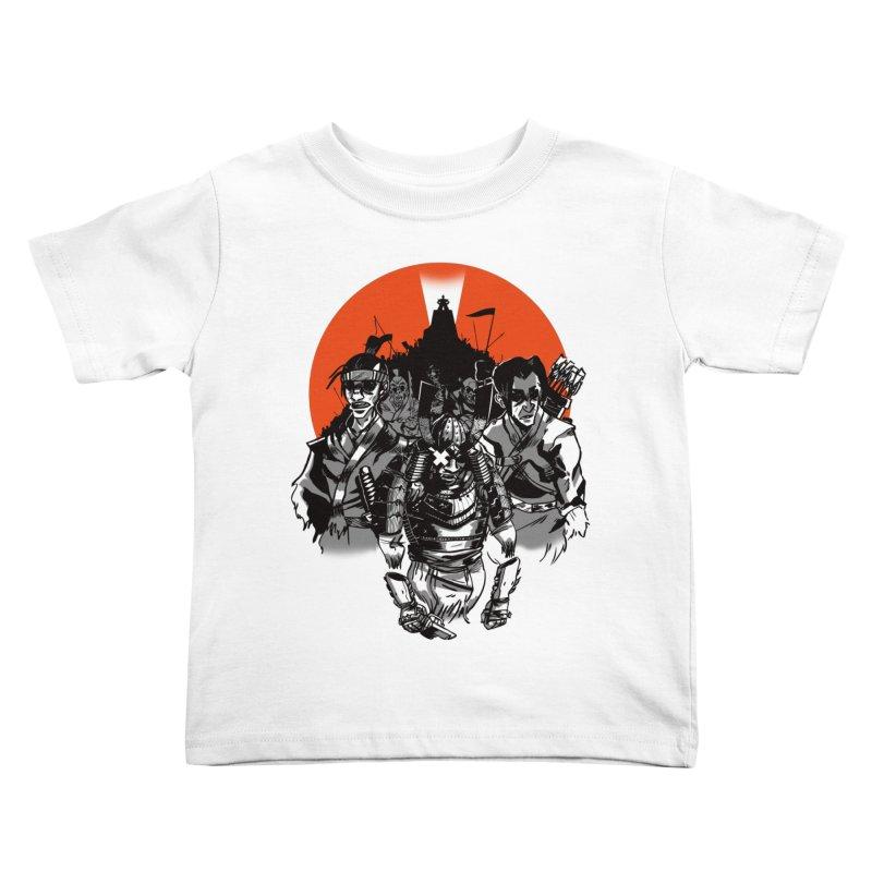 Shogun Kids Toddler T-Shirt by Shop TerryMakesStuff