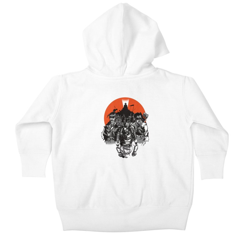 Shogun Kids Baby Zip-Up Hoody by Shop TerryMakesStuff