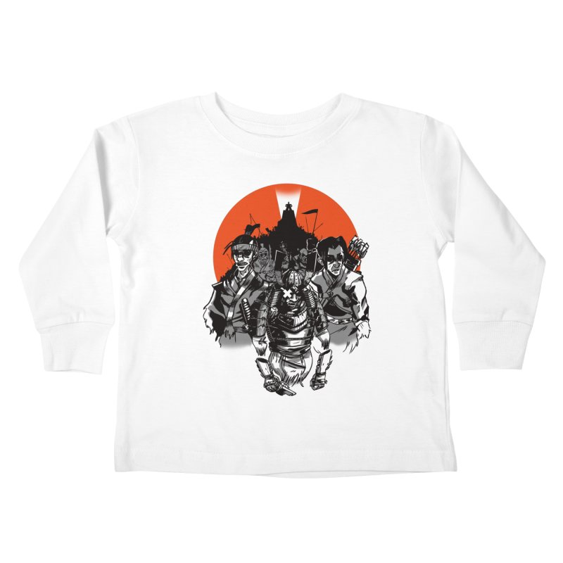Shogun Kids Toddler Longsleeve T-Shirt by Shop TerryMakesStuff