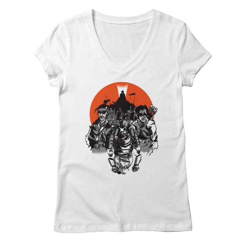 Shogun Women's Regular V-Neck by Shop TerryMakesStuff