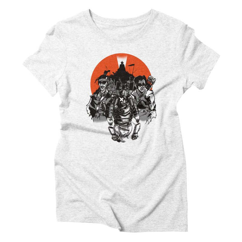 Shogun Women's Triblend T-shirt by Shop TerryMakesStuff