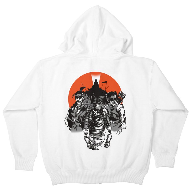 Shogun Kids Zip-Up Hoody by Shop TerryMakesStuff