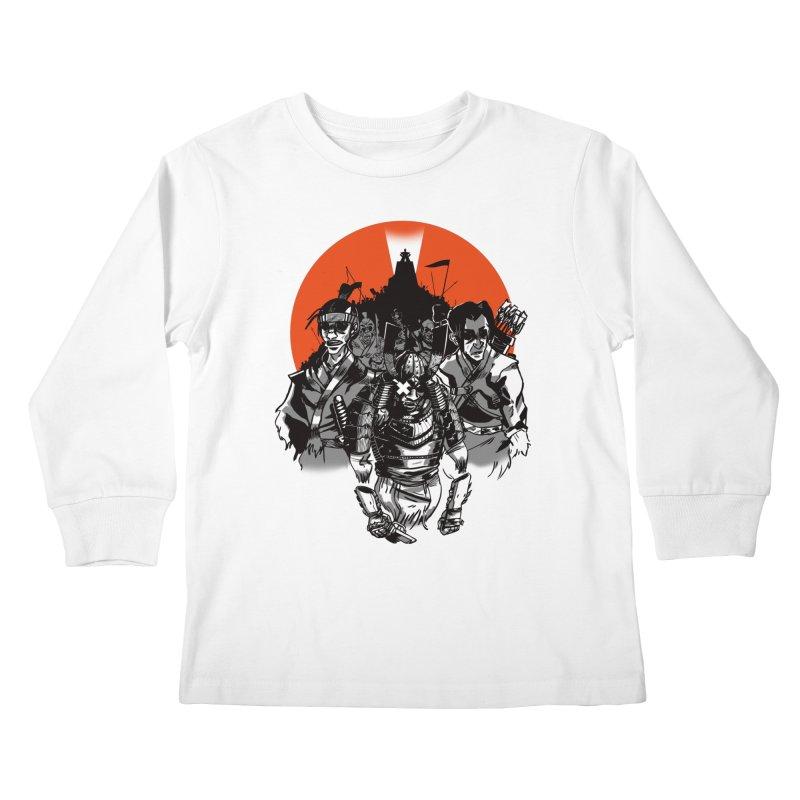 Shogun Kids Longsleeve T-Shirt by Shop TerryMakesStuff