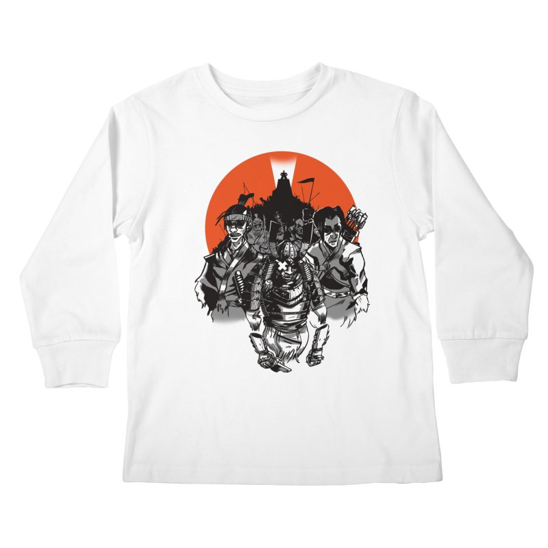 Shogun Kids Longsleeve T-Shirt by Shop TerryMakesStuff