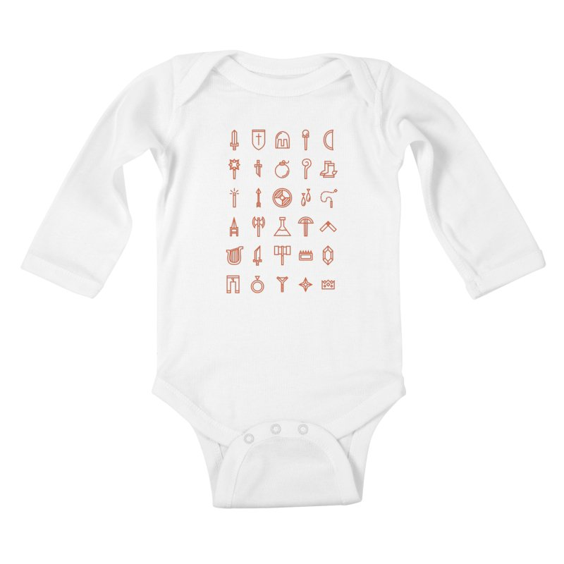 Inventory Kids Baby Longsleeve Bodysuit by Shop TerryMakesStuff