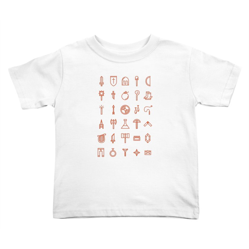 Inventory Kids Toddler T-Shirt by Shop TerryMakesStuff