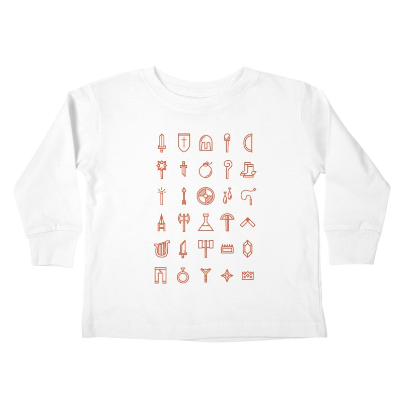 Inventory Kids Toddler Longsleeve T-Shirt by Shop TerryMakesStuff