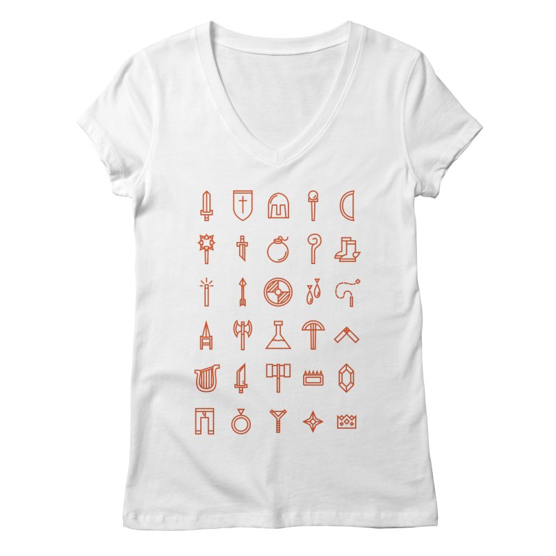 Inventory Women's V-Neck by Shop TerryMakesStuff
