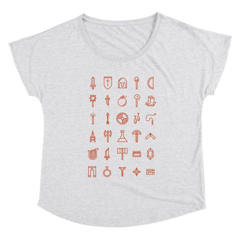 Inventory Women's Scoop Neck by Shop TerryMakesStuff