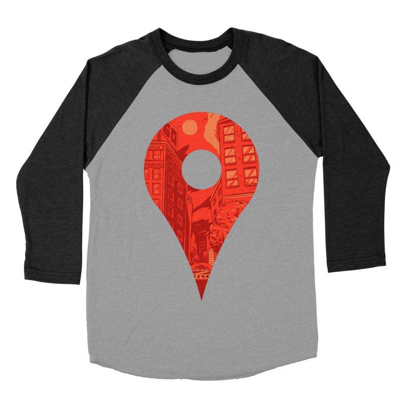 Destination Men's Baseball Triblend Longsleeve T-Shirt by Shop TerryMakesStuff