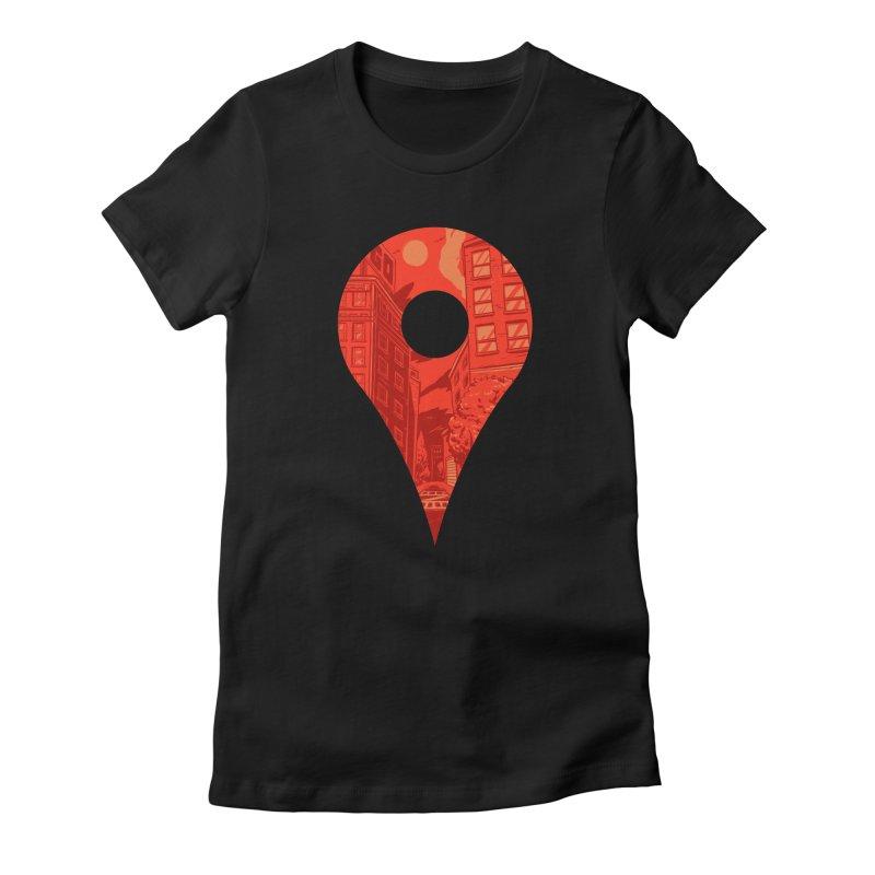 Destination Women's T-Shirt by Shop TerryMakesStuff
