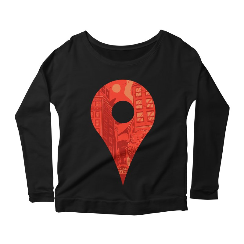 Destination Women's Longsleeve T-Shirt by Shop TerryMakesStuff