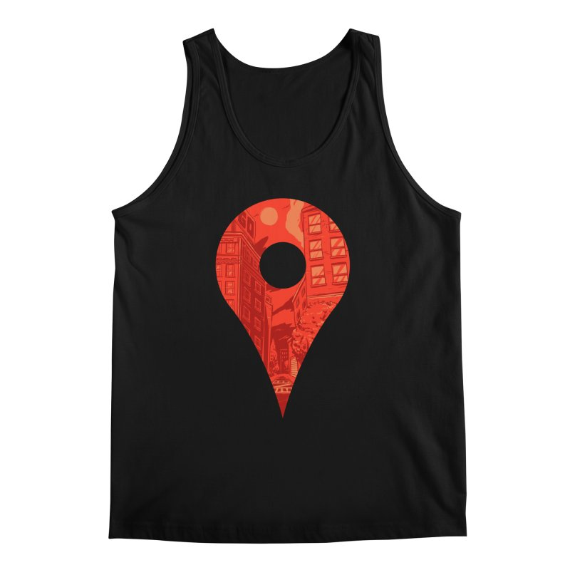 Destination Men's Tank by Shop TerryMakesStuff