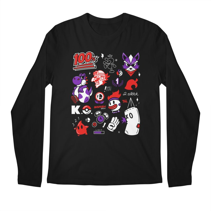 Smash-Up Men's Longsleeve T-Shirt by Shop TerryMakesStuff