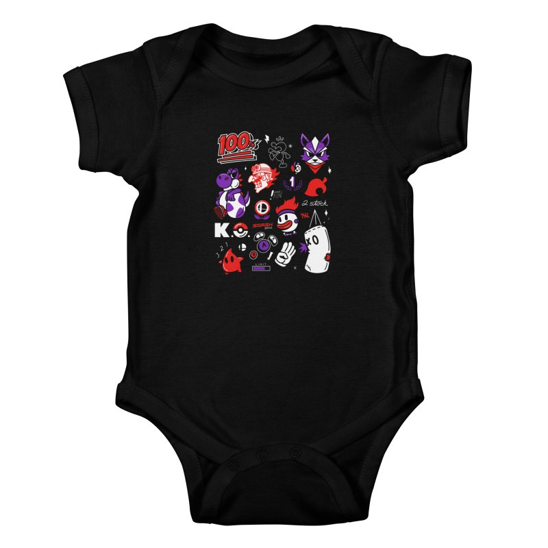 Smash-Up Kids Baby Bodysuit by Shop TerryMakesStuff