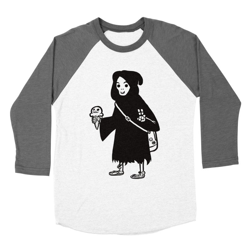 Chill Reaper Women's Longsleeve T-Shirt by Shop TerryMakesStuff