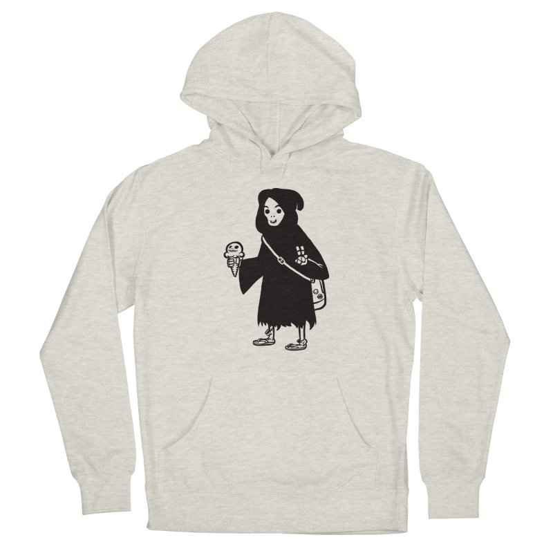Chill Reaper Men's French Terry Pullover Hoody by Shop TerryMakesStuff