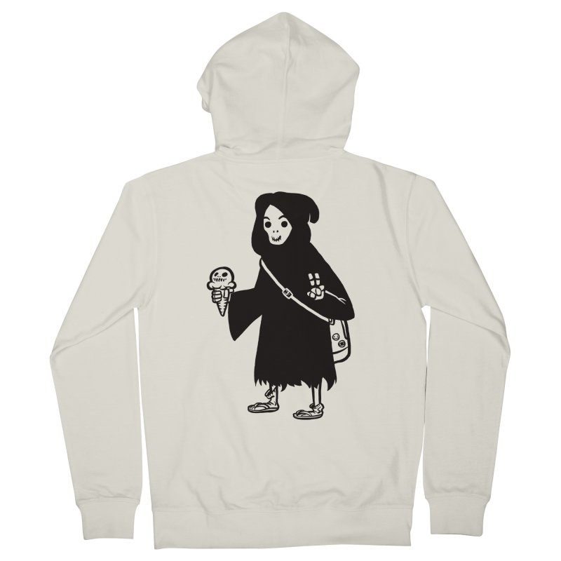 Chill Reaper Women's French Terry Zip-Up Hoody by Shop TerryMakesStuff