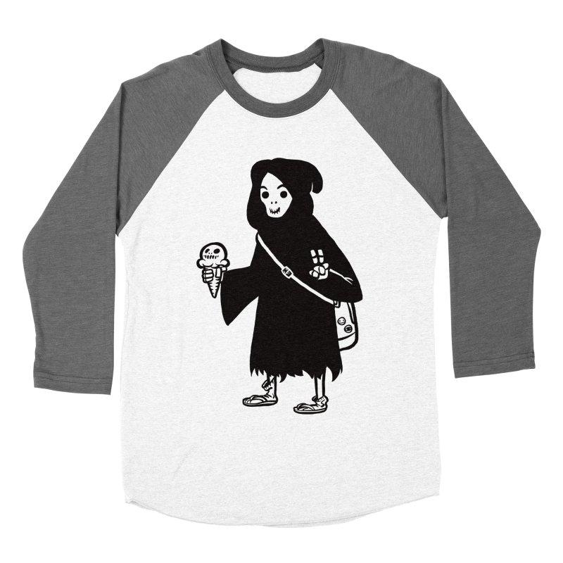 Chill Reaper Men's Baseball Triblend T-Shirt by Shop TerryMakesStuff