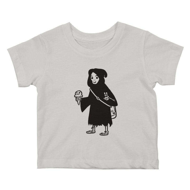 Chill Reaper Kids Baby T-Shirt by Shop TerryMakesStuff