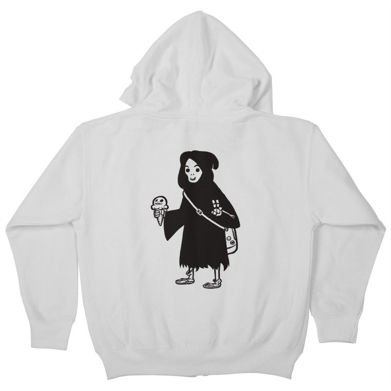Chill Reaper Kids Zip-Up Hoody by Shop TerryMakesStuff