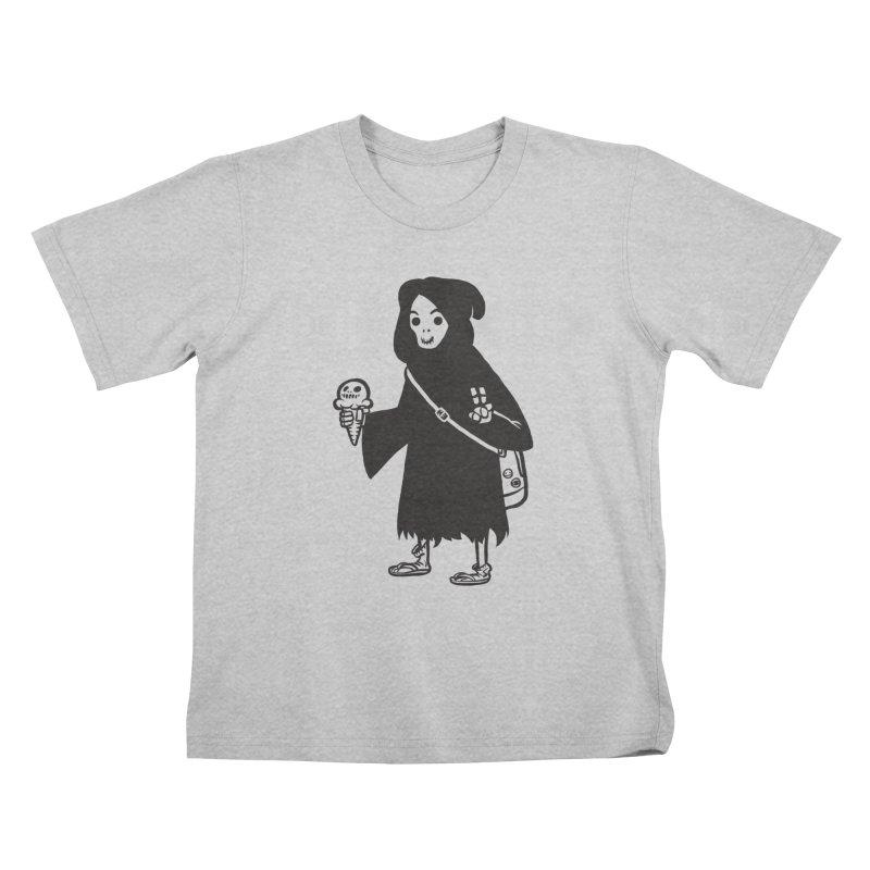 Chill Reaper Kids T-Shirt by Shop TerryMakesStuff