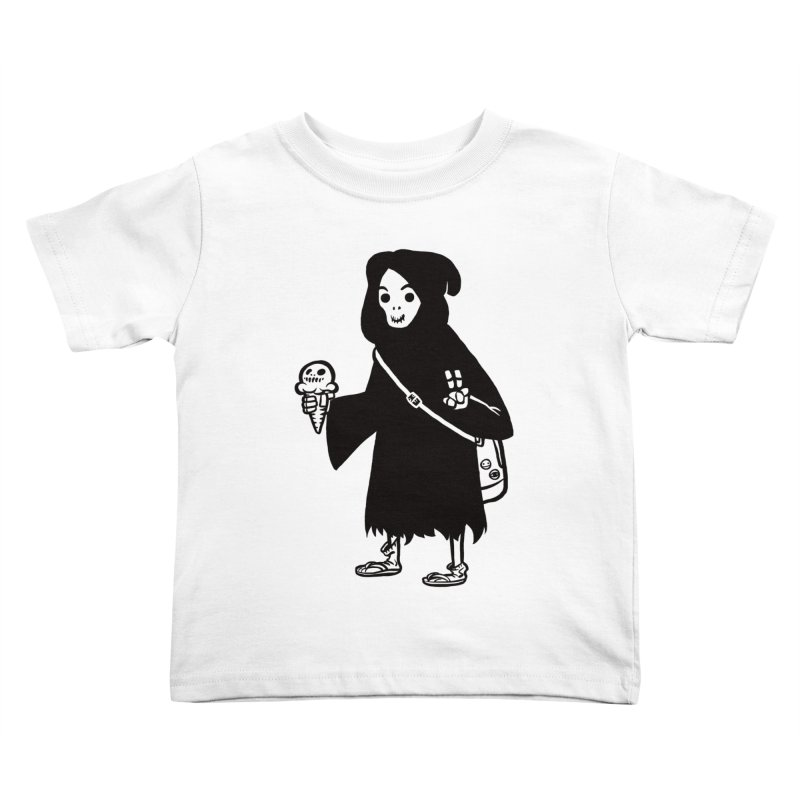 Chill Reaper Kids Toddler T-Shirt by Shop TerryMakesStuff
