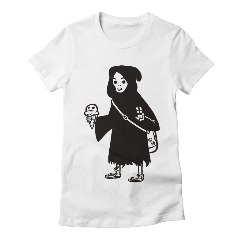 Chill Reaper Women's T-Shirt by Shop TerryMakesStuff