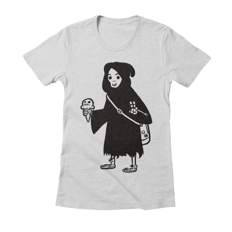Chill Reaper Women's T-Shirt by Shop TerryMakesStuff
