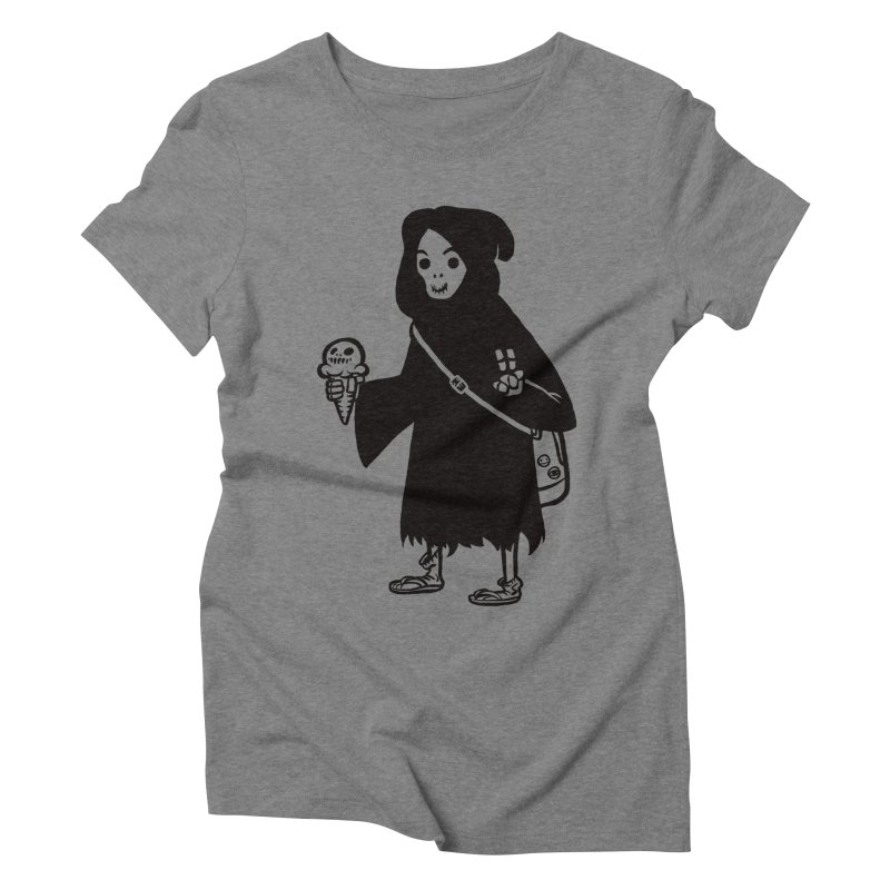 Chill Reaper Women's Triblend T-shirt by Shop TerryMakesStuff