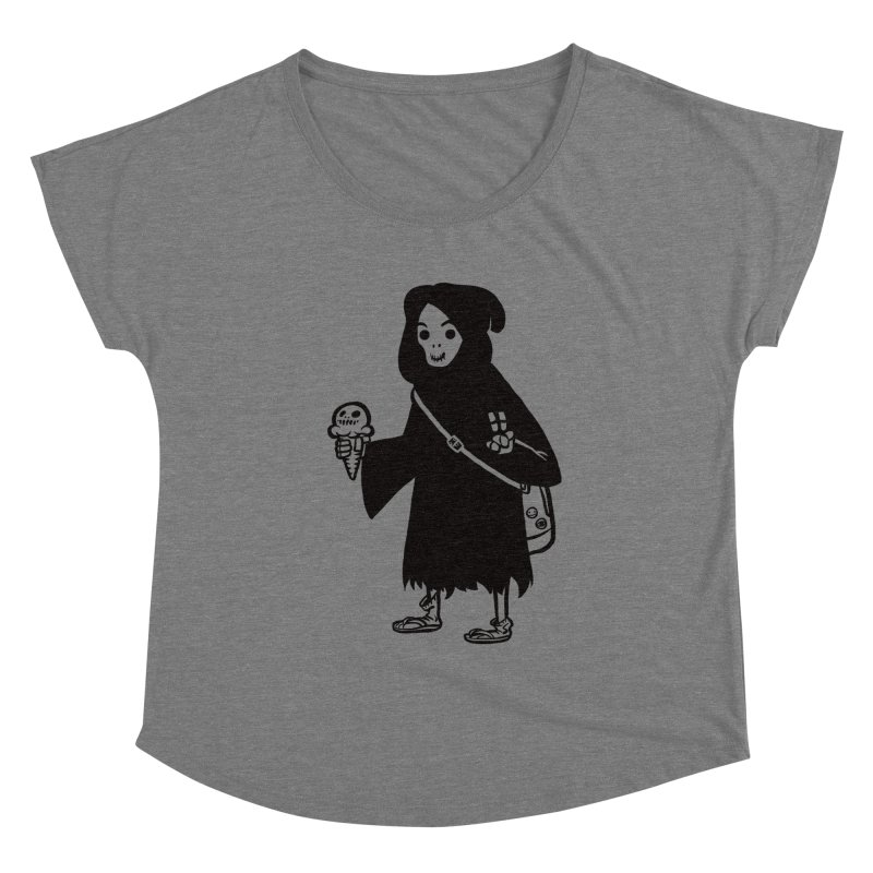 Chill Reaper Women's Scoop Neck by Shop TerryMakesStuff