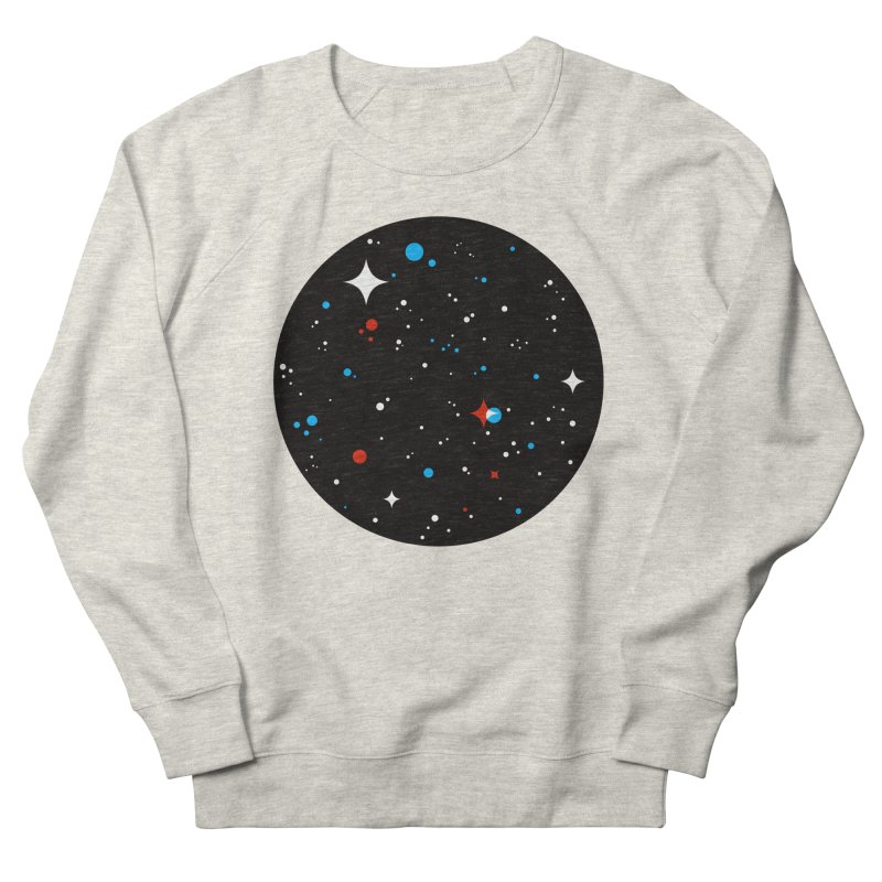 UNIVERSE Men's French Terry Sweatshirt by Shop TerryMakesStuff