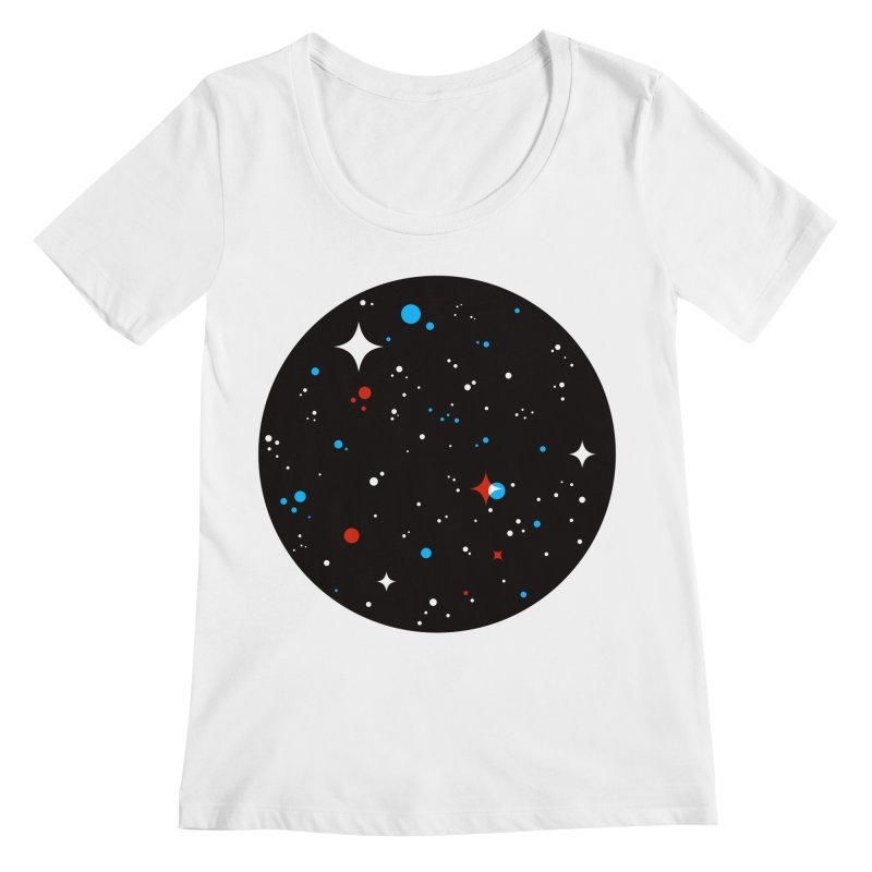 UNIVERSE Women's Scoopneck by Shop TerryMakesStuff