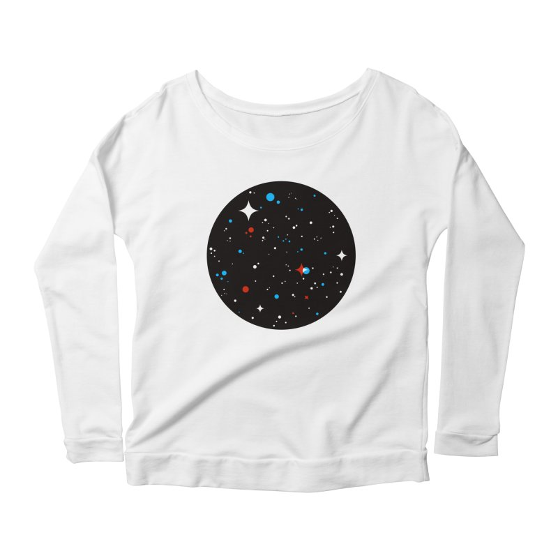 UNIVERSE Women's Scoop Neck Longsleeve T-Shirt by Shop TerryMakesStuff