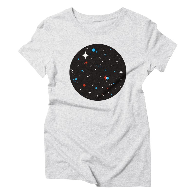 UNIVERSE Women's Triblend T-Shirt by Shop TerryMakesStuff