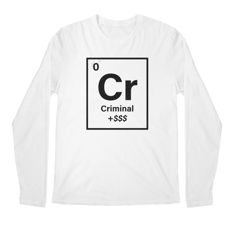 The Criminal Element Men's Longsleeve T-Shirt by Shop TerryMakesStuff