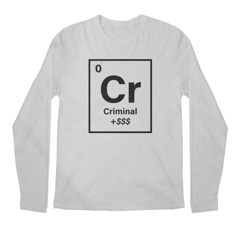The Criminal Element Men's Regular Longsleeve T-Shirt by Shop TerryMakesStuff