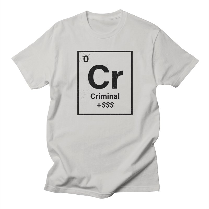 The Criminal Element Men's T-Shirt by Shop TerryMakesStuff