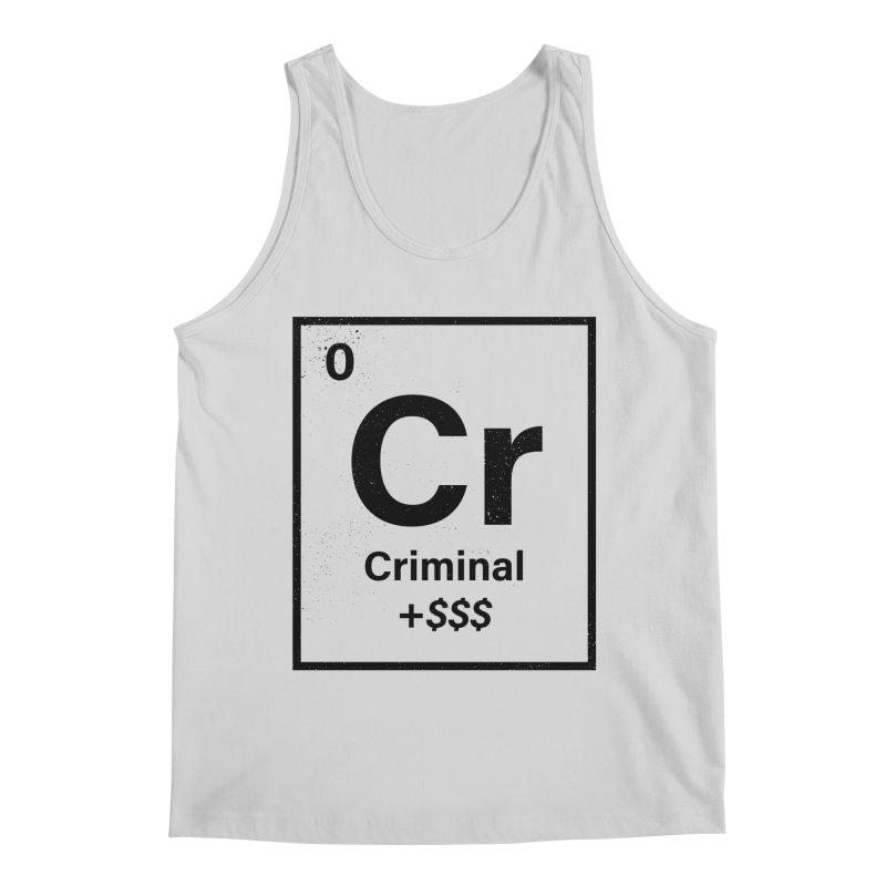The Criminal Element Men's Tank by Shop TerryMakesStuff