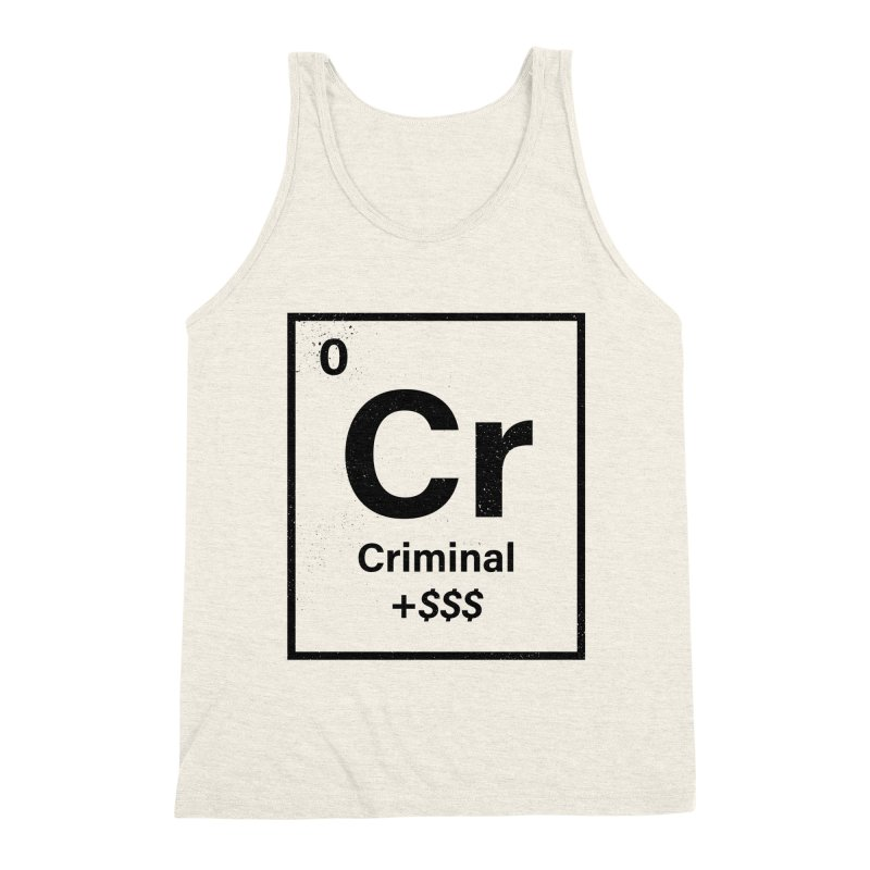 The Criminal Element Men's Tank by Shop TerryMakesStuff