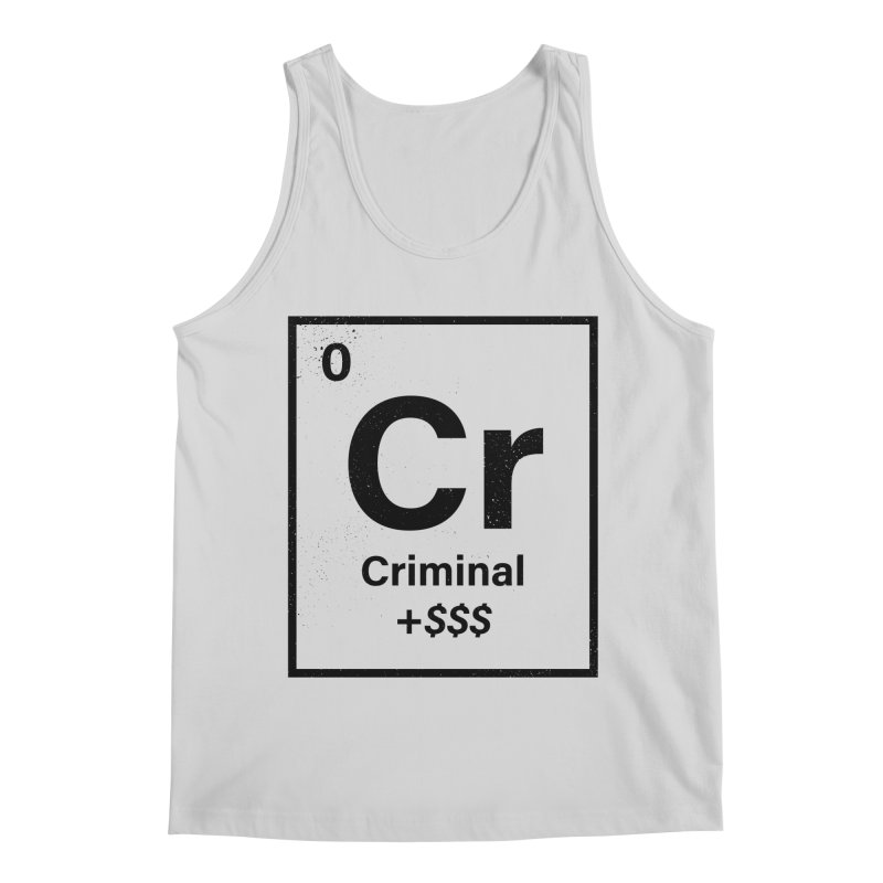 The Criminal Element Men's Regular Tank by Shop TerryMakesStuff